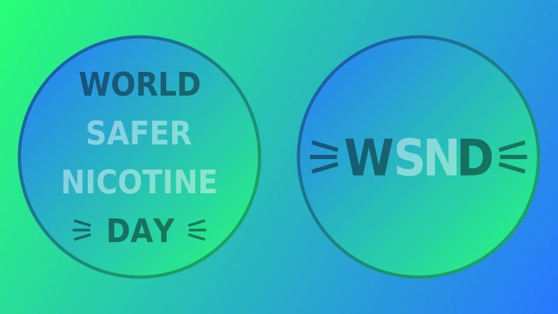 World Safer Nicotine Day